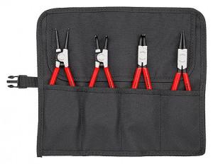 Set Cleşti KNIPEX pentru inele siguranţă, 4 piese