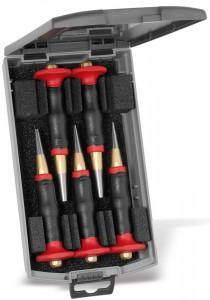 Set standard de perforatoare Rennsteig cu apărătoare pentru mână, 5 piese