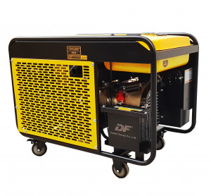 Stager YDE12E3 Generator open frame 8kW, trifazat, diesel, pornire la cheie