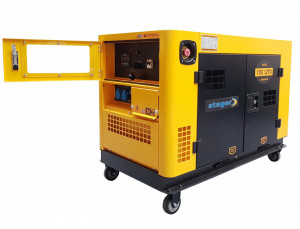 Stager YDE12TD Generator insonorizat diesel monofazat 8.5kVA, 37A, 3000rpm
