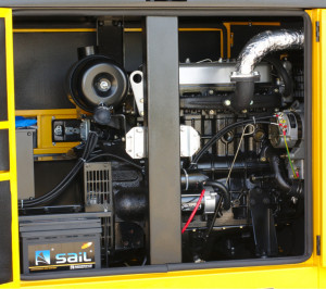 Stager YDY22S Generator insonorizat diesel monofazat 20kVA, 87A, 1500rpm