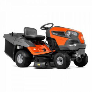 Tractor tuns gazon Husqvarna TC242T, alimentare Motor termic