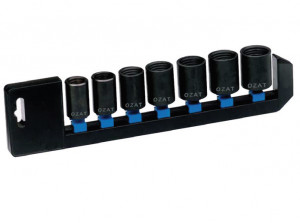 "Trusa capete tubulare de impact 1/2"" pentru demontat prezoane 17-26 mm/7 piese 17-26 mm / 7 piese"
