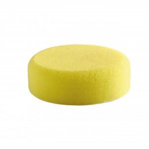 Burete șlefuire 80 mm, dur, galben, fixare cu scai, pentru indepartat zgaraieturi adanci