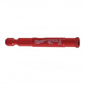 Burghie DIAMOND PLUS™ ¼″ pentru găurire umedă / uscată, 8 mm
