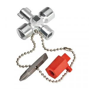Cheie pentru tablou electric, KNIPEX, 44 mm