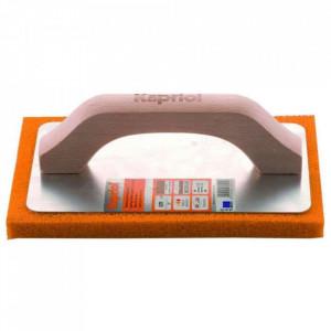 Gletieră cu burete din cauciuc portoacaliu 100x240 mm Kapriol