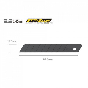 Lame 12,5 mm Tip MTBB-10B - set 10 bucati