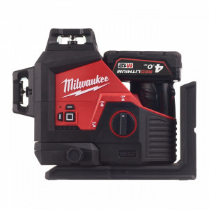 Laser M12™ verde 360° cu 3 planuri Milwaukee