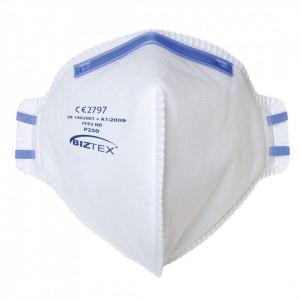 Masca de Protectie Respirator FFP2 Dust Mist Fold Flat, pachet 20 buc, culoare Alb