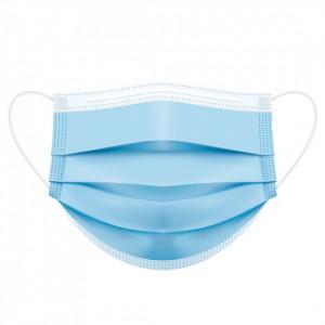 Masca Medicala Type IIR (Ambalaj Individual), pachet 50 buc, culoare Albastru
