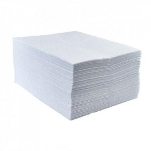 Pad Absorbtie Uleiuri, pachet 200 buc, culoare Alb