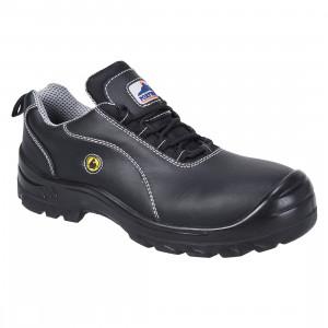 Pantof din piele Portwest Compositelite ESD S1, culoare Negru