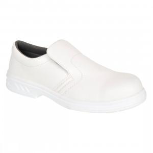 Pantofi de lucru Slip On O2, culoare Alb