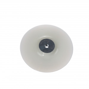 Placă suport flexibilă 180 mm, dotată cu piuliță cu flanșă M14 pentru toate polizoarele unghiulare