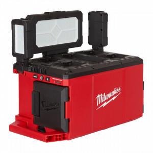 Proiector cu încărcător M18™ PACKOUT™ Milwaukee M18 POALC-0, alimentare Cu acumulator - neechipat