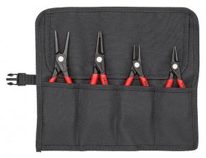 Set Cleşti KNIPEX de precizie pentru inele siguranţă, 4 piese