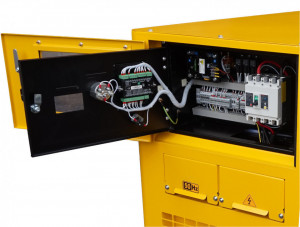 Stager YDY15S3-E Generator insonorizat diesel trifazat 14kVA, 19A, 1500rpm