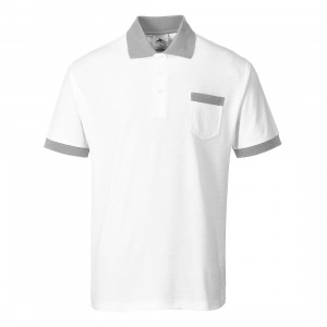 Tricou Painters Pro Polo, culoare alb