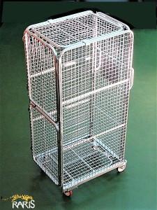 Carucior pliabil pentru transport containerizat tip CPTC