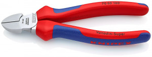 Cleste sfic, cromat, manere multicomponet, KNIPEX, 160 mm