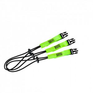 Clipuri Quick Connect (x3), pachet 10 buc, culoare Verde