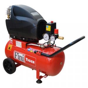 Compresor FINI Tiger 265M, monofazat, debit 156 litri/min, butelie 24 litri