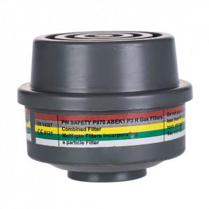 Filtru Combinat ABEK1P3 Conexiune Speciala, pachet 4 buc, culoare Gri