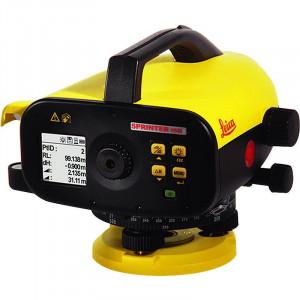 Leica SPRINTER 150M - nivela electronica cu memorie - citire pe stadie cu cod de bare