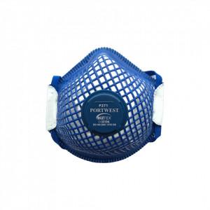 Masca de protectie cu valva ERGONET FFP2, pachet 10 buc, culoare Alb