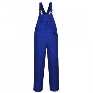 Pantaloni cu Pieptar cu 9 Buzunare, culoare Albastru