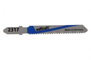Panze pentru fierastrau pendular Wolfcraft, , prindere in T, pentru metal, adancime taiere 3-6mm, 2 buc/set