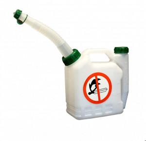 ProGARDEN Bidon pentru amestec benzina/ulei, 1 litru, plastic