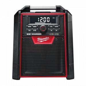 Radio de santier Milwaukee M18 RC-0, cu functie de incarcare pentru acumulatori M18, alimentare Cu acumulator - neechipat