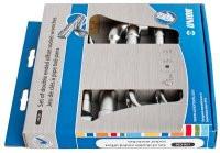 Set de chei pipa in cutie de carton, 8-19 mm, 6 piese