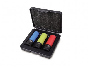 Set tubulare de impact cu protectie 1/2'', 3 piese 720LC/C3