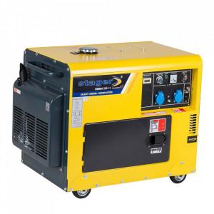 Stager DG 5500S+ATS Generator insonorizat diesel 4.2kW, monofazat, 3000 rpm, cu automatizare