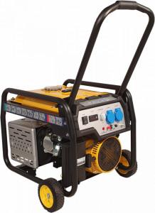 Stager FD 4000E generator open-frame 3.3kW, monofazat, benzina, pornire electrica