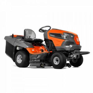 Tractor tuns gazon Husqvarna TC238TX, alimentare Motor termic
