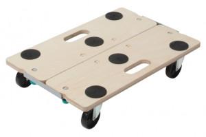 Transportor pe role Wolfcraft FT 300 pentru mobila, separabil, sarcina maxima 250 kg