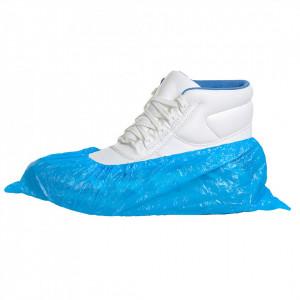 Acoperitori Pantofi de Unica Folosinta din PE, pachet 6000 buc, culoare Albastru