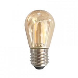 Bec LED Filament Amber