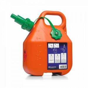 Canistră de carburant 6 litri, portocalie