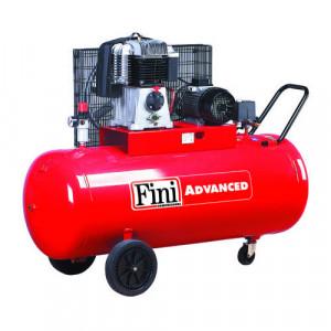 Compresor FINI BK114-270-7.5, trifazat, debit 494 litri/min, butelie 270 litri