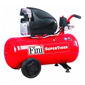 Compresor FINI Supertiger/I285M, monofazat, debit 156 litri/min, butelie 50 litri