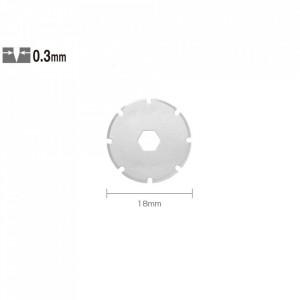 Lama rotunda taiere perforata PRB-18-2 - 18 mm