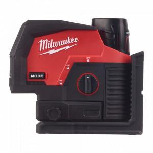 Laser M12™ cu linie transversală verde cu puncte de verticală Milwaukee