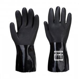 Manusi Chimice ESD PVC, culoare Negru