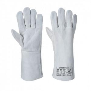 Mănuși clasice de sudură, marime XL, culoare Gri