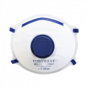 Masti Dolomita FFP2 cu Valva, pachet 10 buc, culoare Alb